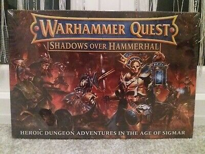 Warhammer Quest Shadows Over Hammerhal New And Sealed. • 100£