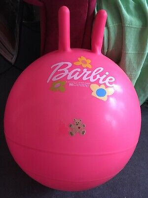Pink Barbie Spacehopper With Pump • 10£