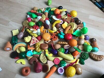 Vintage Mixed X170 Elc & Other Childrens Play Food Huge Lot Fruit Veg Meats Rare • 6.99£