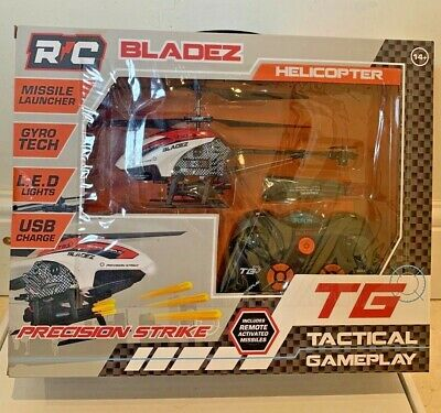 Remote Control Helicopter,  Missile Firing, Bladez Toys • 19.96£