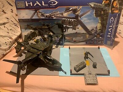 Halo Mega Bloks UNSC Falcon With Landing Pad (96940) - No Air Assault Spartan  • 52.99£