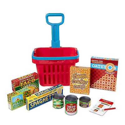 Grocery Basket Play Set • 34.95£