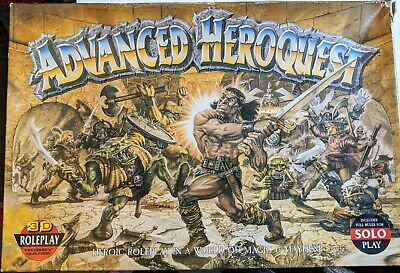 Advanced Heroquest Games Workshop Board Game Boxed • 62£
