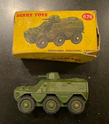 DINKY 676 Armoured Personnel Carrier In Original Box • 9.90£