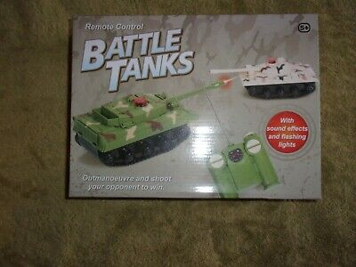 Remote Control Battle Tank Game. • 8.30£