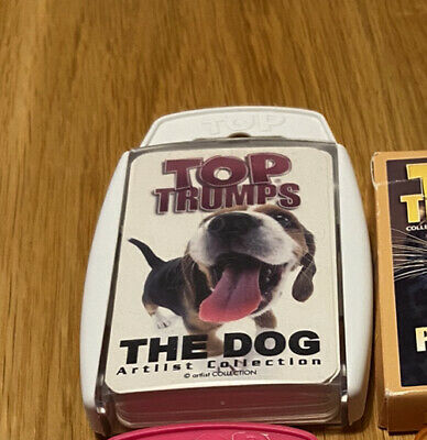 Top Trumps - The Dog Artistic Collection • 2.20£