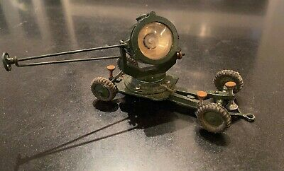 VINTAGE BRITAINS  MODEL No.1718 MOBILE ANTI-AIRCRAFT SEARCHLIGHT UNBOXED • 19.90£