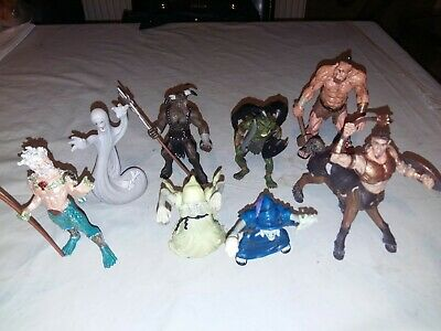 Set Of 8 ELC Tower Of Doom Mythical Action Figures • 6.50£