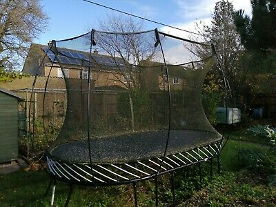 Springfree Large Oval Trampoline 4m X 2.4m - Good Condition • 103£