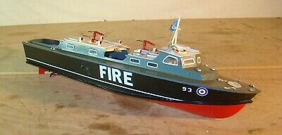 RAF Fire Tender. A Large (3 Ft) Model Motor Boat For Radio Control • 87£