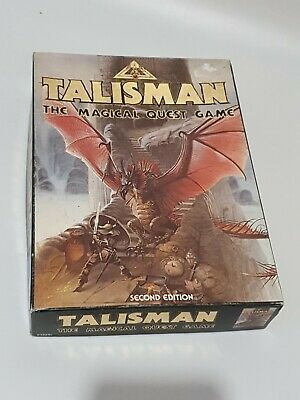 Talisman 2ND EDITION Games Workshop The Magical Quest Game Boxed NOT COMPLETE • 29.99£
