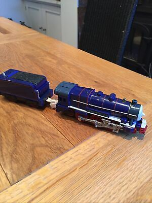 """Lot 9 Wooden Railway Brio Thomas Compatible - """"Hank"""" Engine With Powered Tender • 0.99£"""