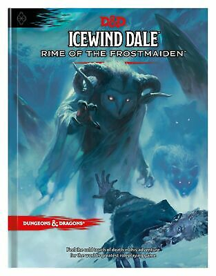 Dungeons & Dragons Icewind Dale: Rime Of The Frostmaiden Adventure Book Hardcove • 23£