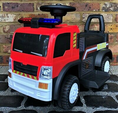 The Big Red 6v Battery / Electric Ride On Fire Engine • 10.50£