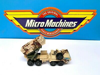 Micro Machines Gulf War Patriot Missile Launcher 1991 Military Vintage Galoob • 4.99£