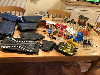 Large Complete Vintage Scalextric Track, Cars, Accesories, Fully Working • 60£