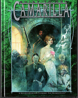 VTM Sourcebook  Guide To The Camarilla  White Wolf WW2302 1999 Hardback • 14£