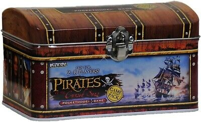 Pirates Pocket Model Game Pirate Chest Tin - OOP • 15£