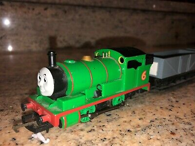 Thomas And Friends  Percy Locomotive Complete With Two Troublesome Trucks • 9.99£