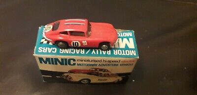 TRIANG MINIC MOTORWAY M1559 Jaguar E Type  Boxed In  Red . • 1£