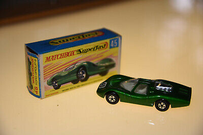 MATCHBOX LESNEY Series MB No.45a Ford Group 6 - Unusual Pink Base? MINT In Nmint • 29£