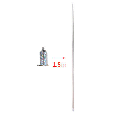 Portable Martial Arts Metal Magic Pocket Bo Staff 150cm Pocket Magic TricksSBVO • 6.09£