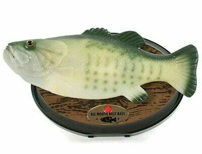 Big Mouth Billy Bass 15th Anniversary The Singing Sensation - Singing Fish Boxed • 29.25£