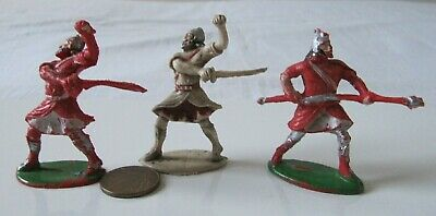 Vintage Rare Cherilea Assyrians Warrior Fighter Soldiers 52mm Plastic Figures • 19.99£