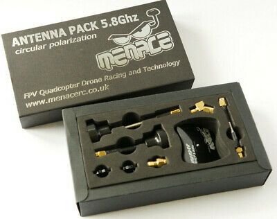 Menace FPV Antenna Pack - 5.8gHz RHCP 2 X Raptor / Invader / Extensions / Spinne • 33.95£