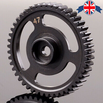 HPI76937 47T Steel Spur Gear 47 Tooth (1M) For HPI RC Model Car SAVAGE X 4.6 UK • 17.98£
