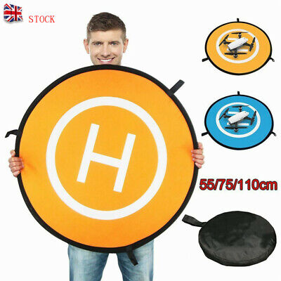 110cm Quadcopter Landing Pad RC Drone Landing Mat Helipad Unmanned Aerial UK • 6.43£