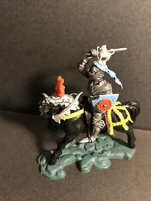 Britains Herald Swoppet Mounted Knight 1452 Attacking Rare Complete Original • 36£