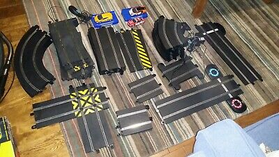 Scalextric Job Lot Of Classic And Sport Track And 3 Cars • 60£
