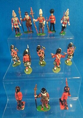 Vintage BRITAINS & Lone Star BRITISH Military Toy Soldier Plastic Figures 60/70s • 6.99£