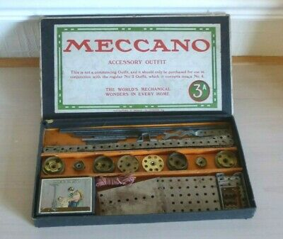 1919 Meccano Nickel Period Set 3a - Used But In Good Condition • 0.99£