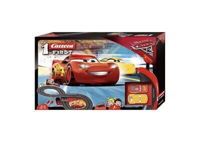 Disney Pixar Cars Racing System Track Scalextric Style • 35£