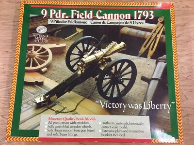 Authentic Models Holland - 9 Pdr. Napoleonic Field Cannon • 39.99£