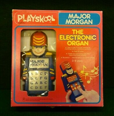 Playskool Major Morgan Electronic Organ In Working Order. • 16£