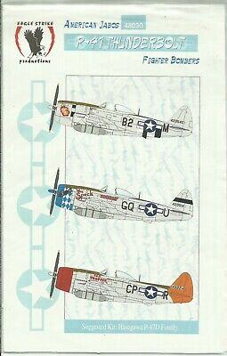Eagle Strike Decals 48030 P-47D Thunderbolt Decals In 1:48 Scale • 9£