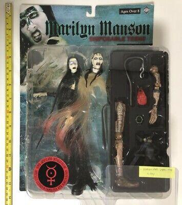 MARILYN MANSON DISPOSABLE TEENS ACTION FIGURE IN PACKAGE (unopened) • 108.28£
