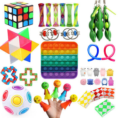 25Pack Fidget Toys Set Sensory Tools Bundle Stress Relief Hand Kids Adults Toy • 22.89£