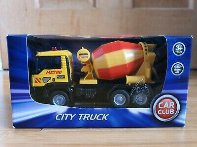 A Brand New, Boxed City Truck In Yellow From The Car Club.  (Brand New) • 50£