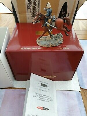 W Britains Toy Soldiers Zulu 39006 Lieutenant Coghill Boxed 79 Of 200 • 220£