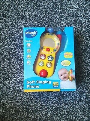 Vtec Baby Soft Singing Phone • 3.70£