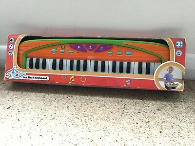 CAROUSEL My First Keyboard 3+Years USED With Box Toddler Boys' Girls' Christmas? • 1£