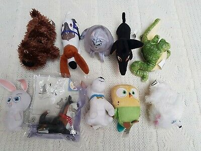 Mcdonalds The Secret Life Of Pets Bundle Soft Toy X 9  • 10£