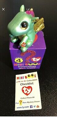 Ty Cinders Mini Boos Series 4. Brand New In Box Pet Free Home • 8.99£