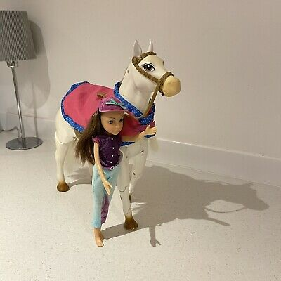 Vintage - Anna And Happy Time  Pony And Rider -batteries Required • 28£