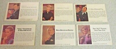 Masterpiece ~ Character Cards (1) ~ Select From Drop Down List ~ Comb Postage • 1£