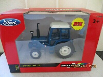 NEW BRITAINS FORD 7600 TRACTOR No.42795. • 30£
